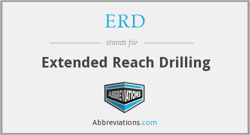 ERD - Extended Reach Drilling