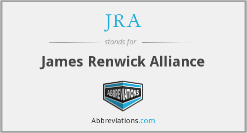 JRA - James Renwick Alliance