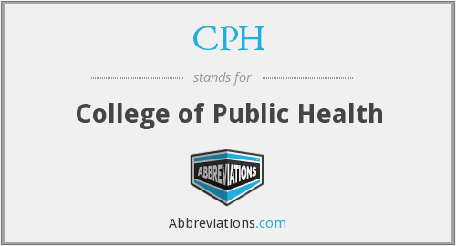 CPH - College of Public Health