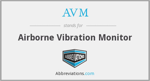 AVM - Airborne Vibration Monitor