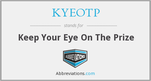 What does KYEOTP stand for?