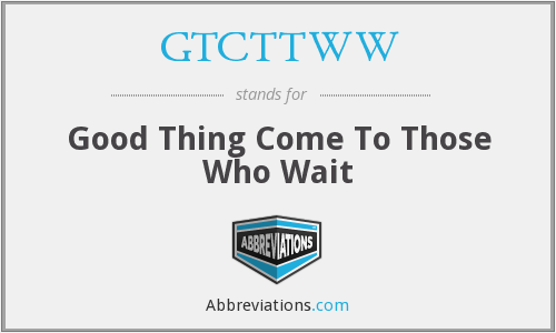 What does GTCTTWW stand for?