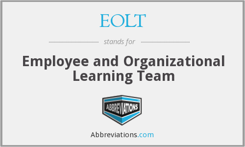 What does EOLT stand for?