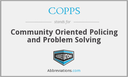 What does COPPS stand for?