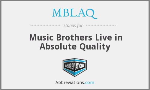 MBLAQ - Music Brothers Live in Absolute Quality