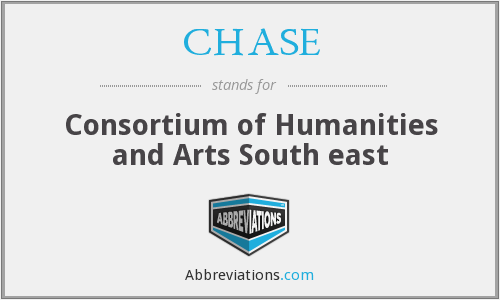 CHASE - Consortium of Humanities and Arts South east