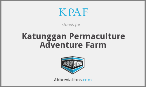 What does KPAF stand for?