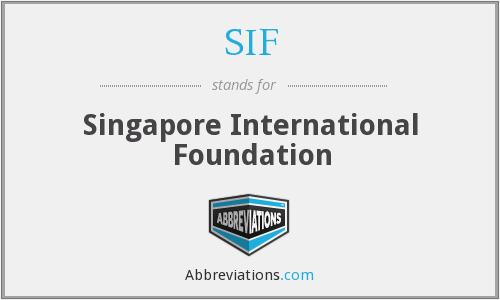 SIF - Singapore International Foundation