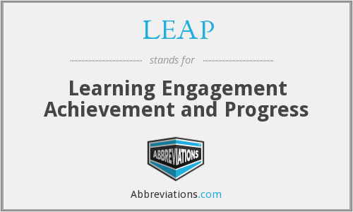 LEAP - Learning Engagement Achievement and Progress