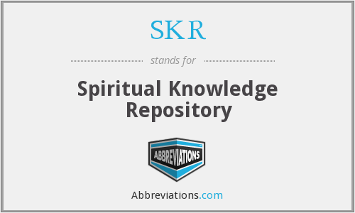 SKR - Spiritual Knowledge Repository