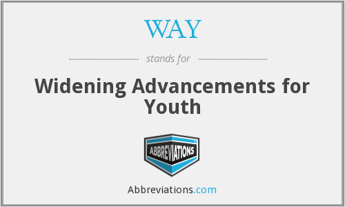 WAY - Widening Advancements for Youth