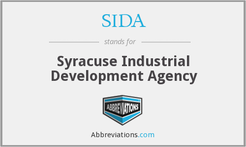 SIDA - Syracuse Industrial Development Agency