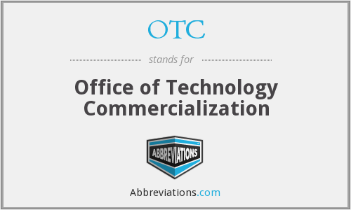 OTC - Office of Technology Commercialization