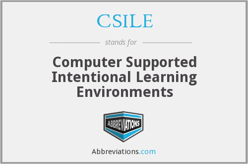 What does CSILE stand for?