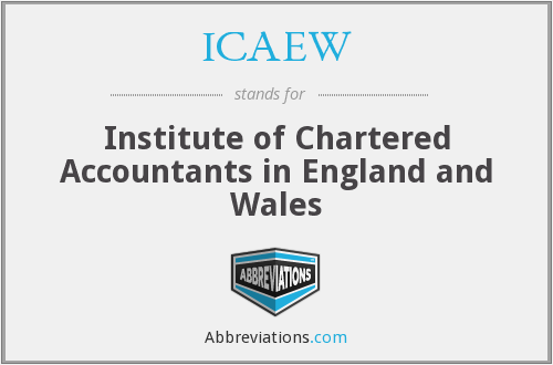 What does ICAEW stand for?