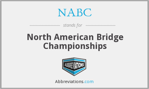 NABC - North American Bridge Championships