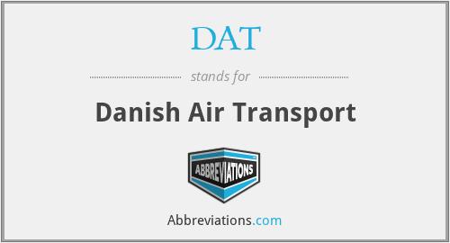 DAT - Danish Air Transport
