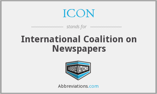 ICON - International Coalition on Newspapers