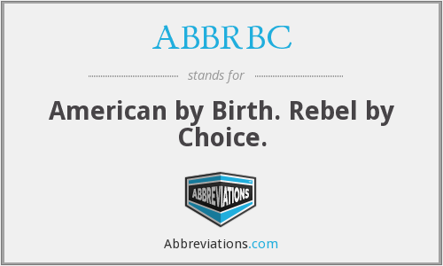 What does ABBRBC stand for?