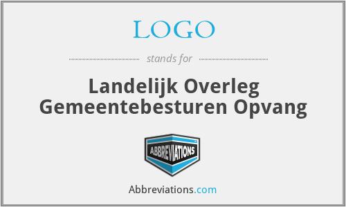 LOGO - Landelijk Overleg Gemeentebesturen Opvang
