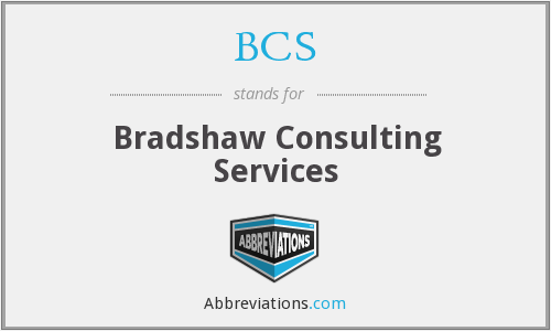 BCS - Bradshaw Consulting Services