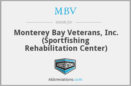 MBV - Monterey Bay Veterans, Inc. (Sportfishing Rehabilitation Center)