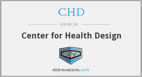 CHD - Center for Health Design