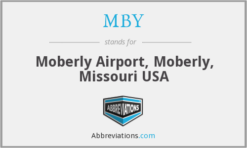 MBY - Moberly Airport, Moberly, Missouri USA