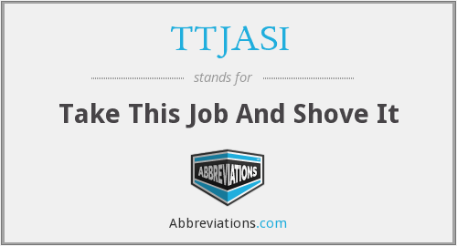 What does TTJASI stand for?