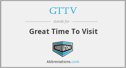 What does GTTV stand for?