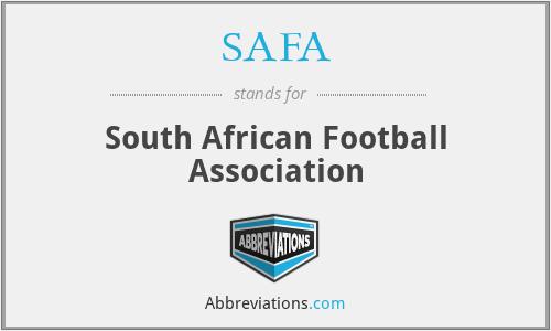 SAFA - South African Football Association
