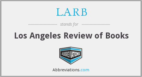 What does LARB stand for?