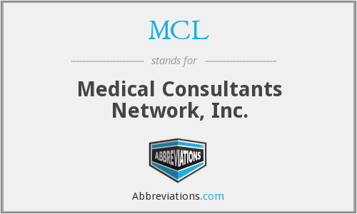 MCL - Medical Consultants Network, Inc.