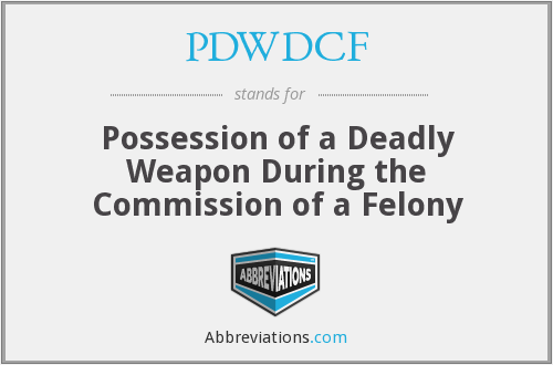 What does PDWDCF stand for?