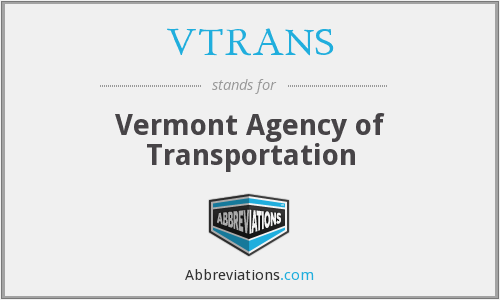 What does VTRANS stand for?