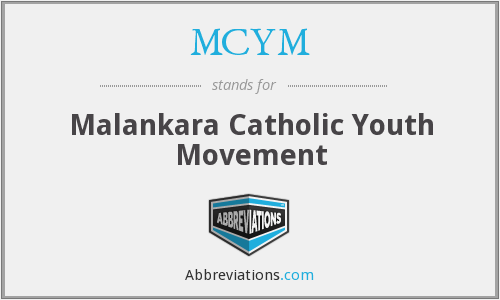 MCYM - Malankara Catholic Youth Movement