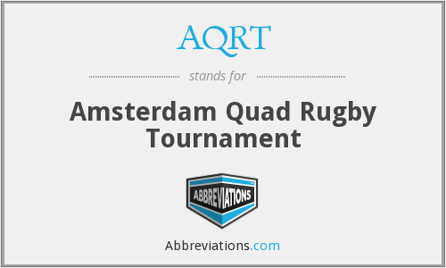 AQRT - Amsterdam Quad Rugby Tournament