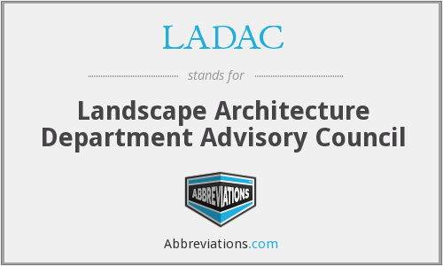 What does LADAC stand for?