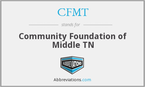 CFMT - Community Foundation of Middle TN