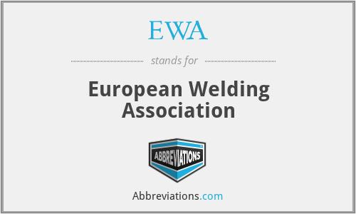 EWA - European Welding Association