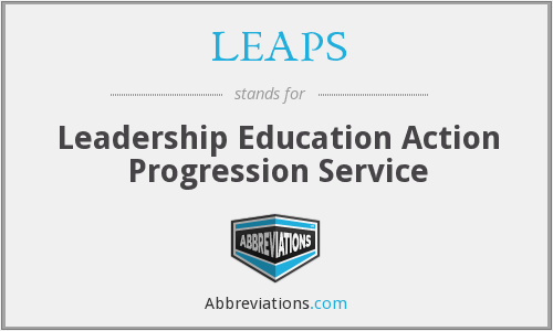 LEAPS - Leadership Education Action Progression Service