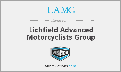 What does LAMG stand for?
