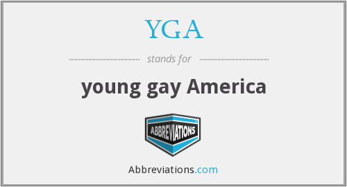 YGA - young gay America
