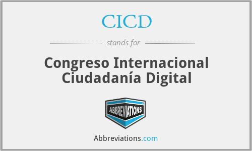 CICD - Congreso Internacional Ciudadanía Digital