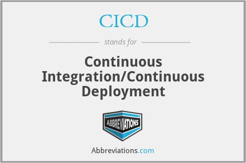 CICD - Continuous Integration/Continuous Deployment