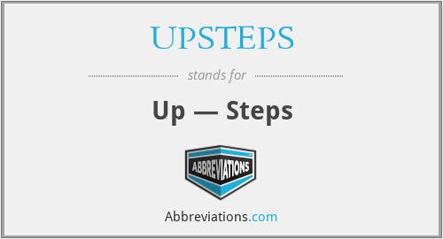UPSTEPS - Up — Steps