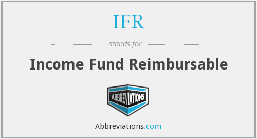 IFR - Income Fund Reimbursable