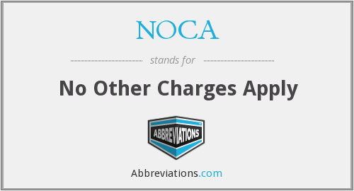What does NOCA stand for?