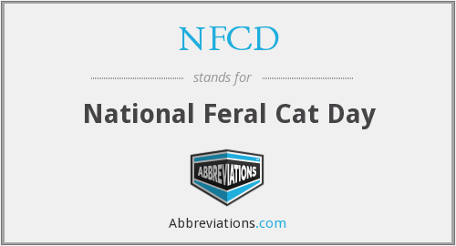 What does NFCD stand for?