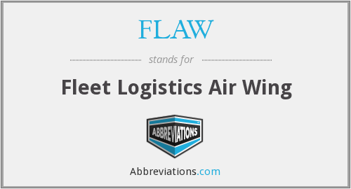 FLAW - Fleet Logistics Air Wing